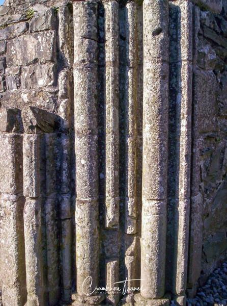 Pillar diteail, Mellifont Abbey