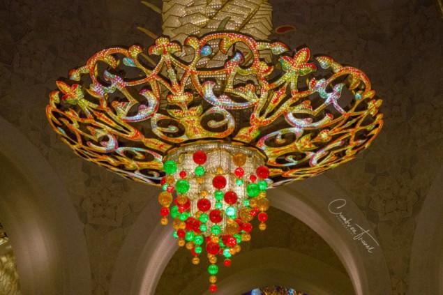 Sheikh Zayed Grand Mosque, chandelier