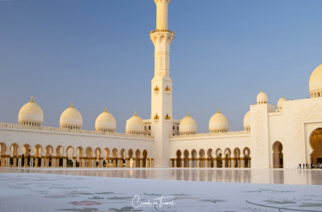 Courtyard, Sheikh Zayed Grand Mosque