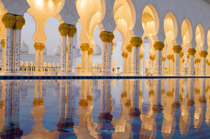 Columns, Sheikh Zayed Grand Mosque