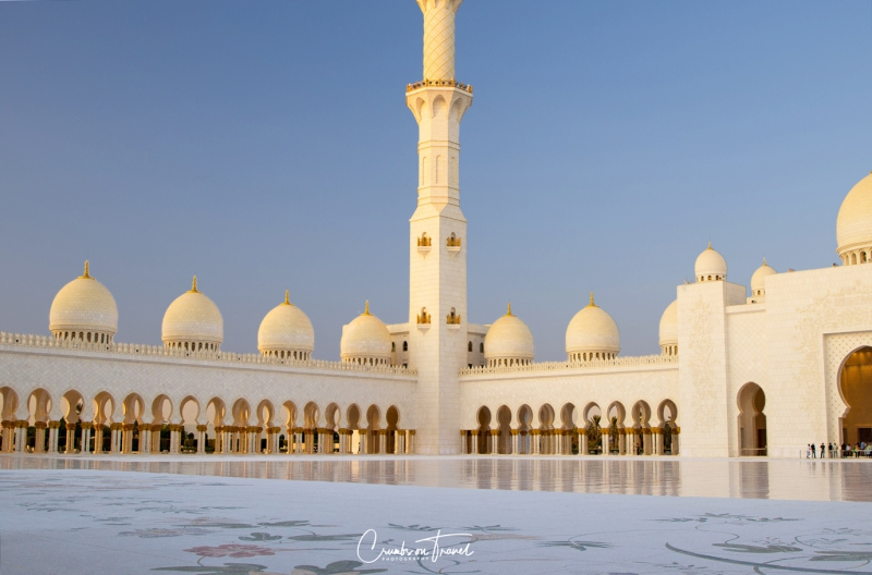 Courtyard, Sheikh Zayed Grand Mosque