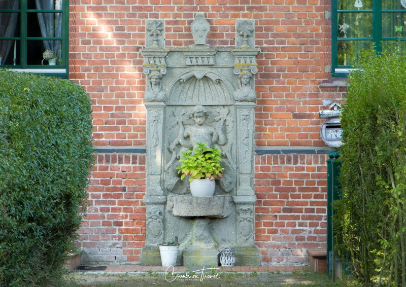 Fountain at Castle Wiligrad