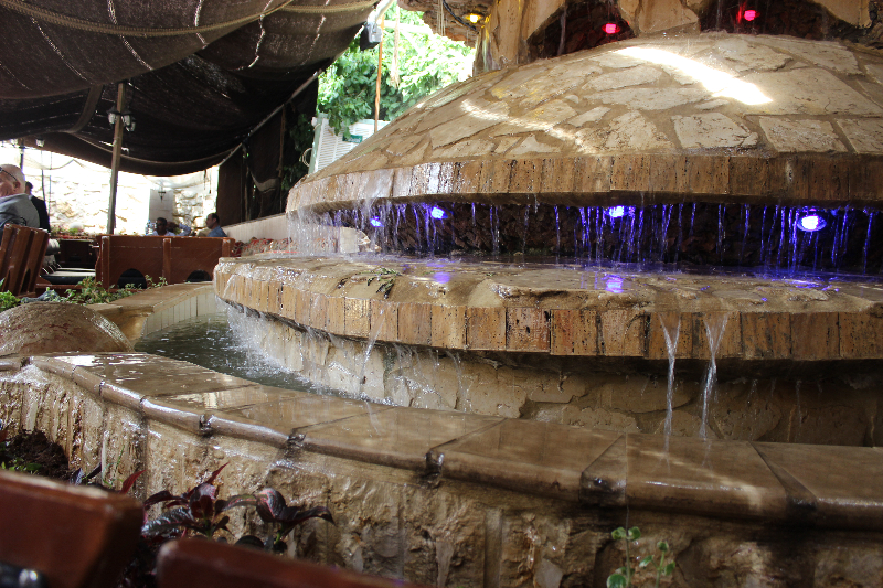 Interior, Windmills Restaurant, Amman, Jordan