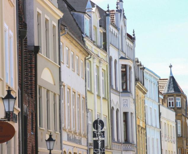 House facades in Wismar
