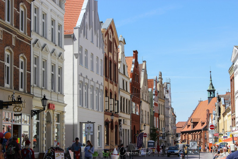 In the old town of Wismar