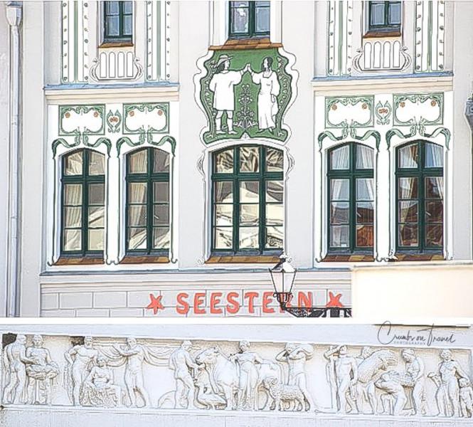 Facade details in Wismar