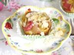 paleo rhubarb muffin
