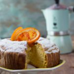 A gluten-free orange almond cake